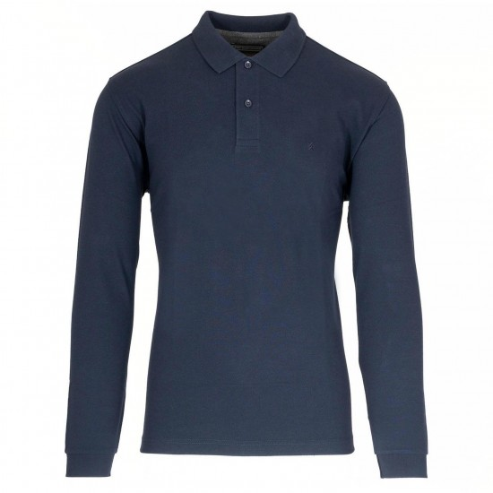 THE BOSTONIANS - Μπλούζα Polo 3PL0001 Μπλε