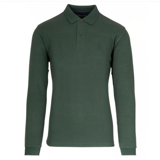THE BOSTONIANS - Μπλούζα Polo 3PL0001 Πράσινο