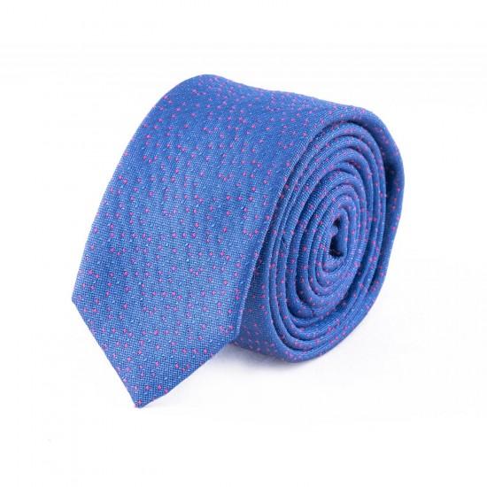 HUGO - Γραβάτα 6 cm Μπλε Ρουά