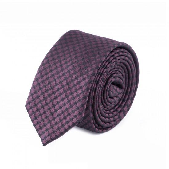 HUGO - Γραβάτα 5 cm Μπορντό