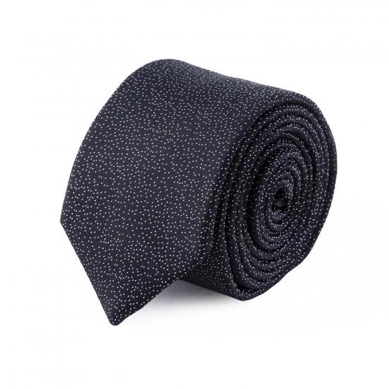 HUGO - Γραβάτα 6 cm 50418072 Μαύρο