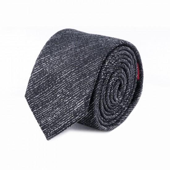 HUGO - Γραβάτα 6 cm 50418332 Γκρι