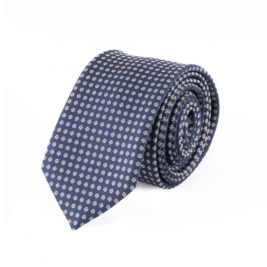 BOSS - Γραβάτα 6 cm Μπλε