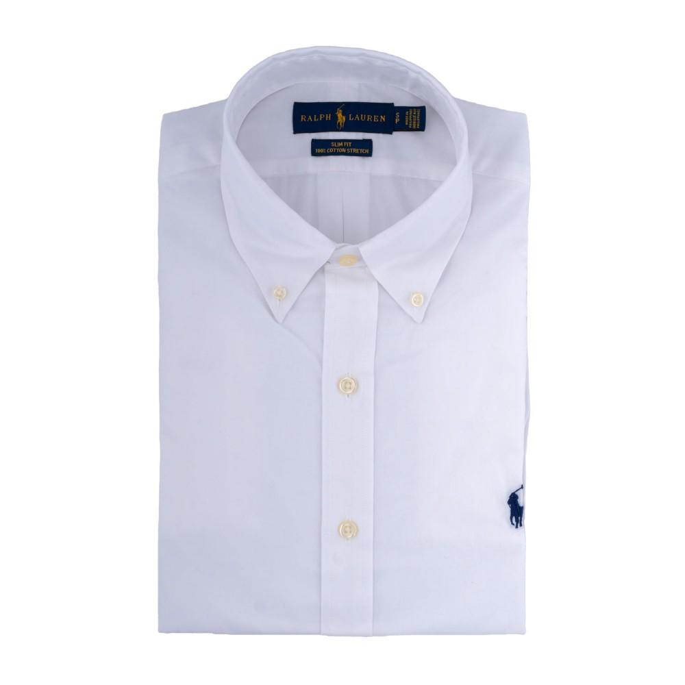 POLO RALPH LAUREN - Πουκάμισο 710705269 Λευκό