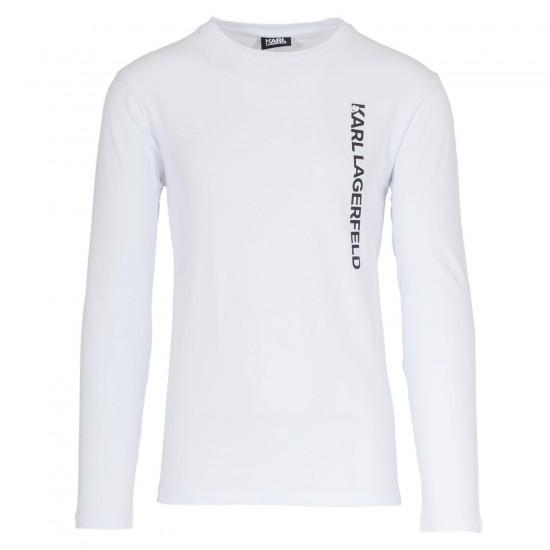 KARL LAGERFELD - T-shirt  755044 502221 Λευκό