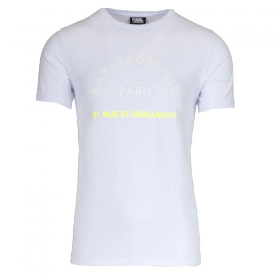 KARL LAGERFELD - T-shirt 755072 502221 Λευκό