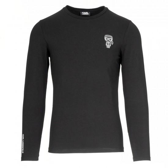 KARL LAGERFELD - T-shirt 755081 50221 Μαύρο