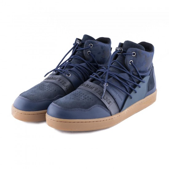 TRUSSARDI -  Παπούτσια 377A00099-9Y099998 Μπλε