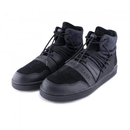 TRUSSARDI -  Παπούτσια 377A00099-9Y099998 Μαύρο