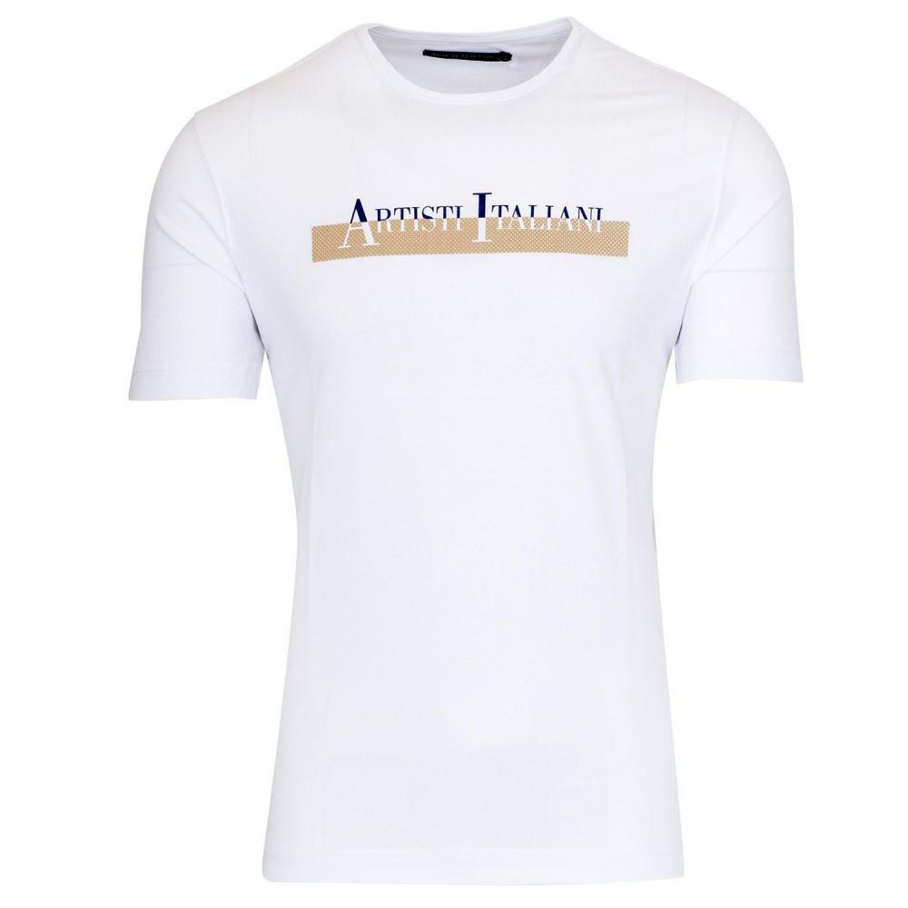 ARTISTI ITALIANI - T-Shirt AI19225 Λευκό