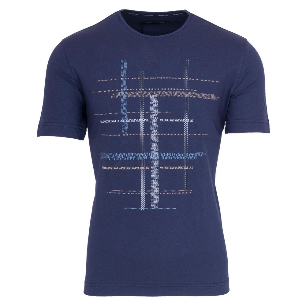 ARTISTI ITALIANI - T-Shirt AI19244 Μπλε