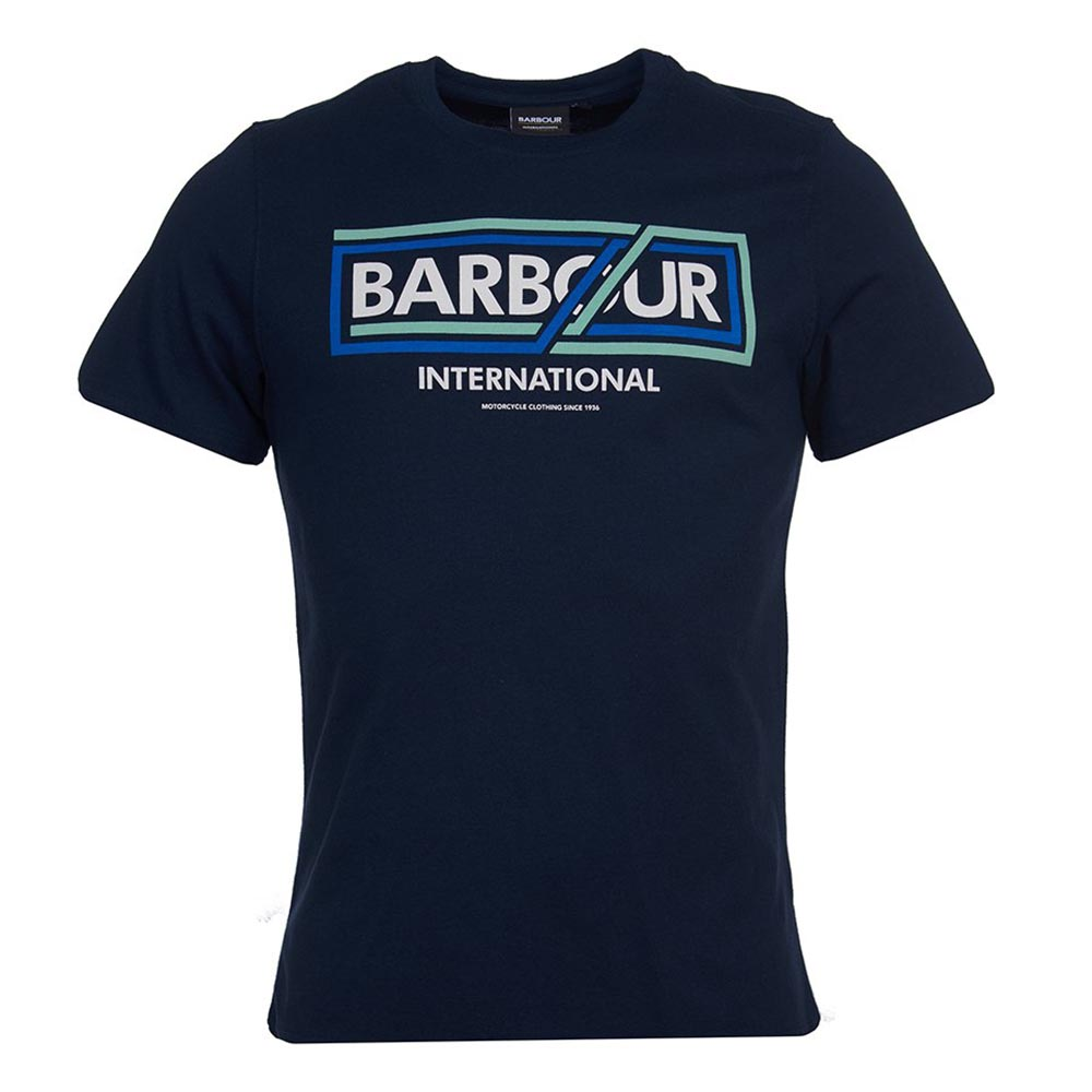 BARBOUR - T-shirt 3BRMTS0664 Μπλε