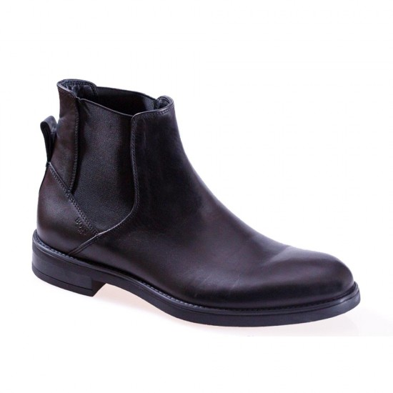 BOSS SHOES - Chelsea boots P6512 Μαύρο