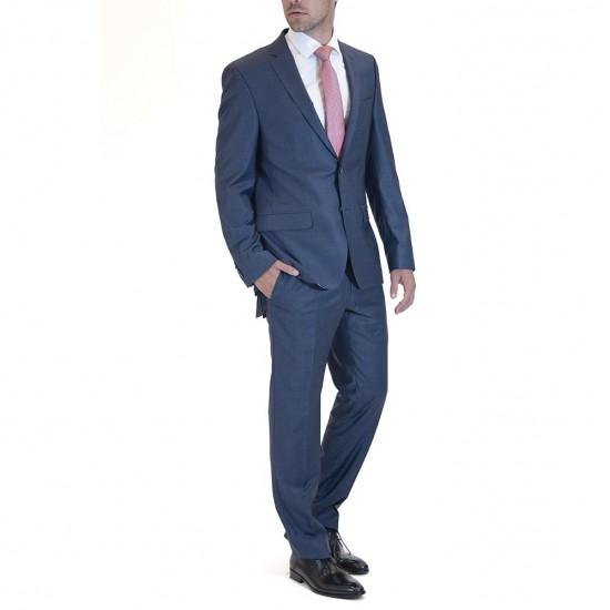 DANIEL HECHTER -  Παντελόνι κοστουμιού 40250 100105 Μπλε