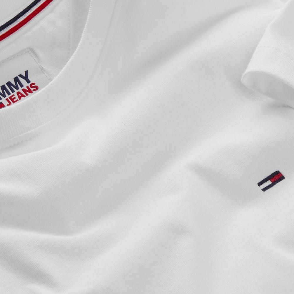 TOMMY JEANS - T-Shirt DM0DM04411 Λευκό
