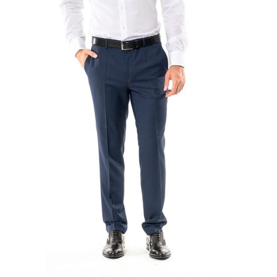 HUGO - Παντελόνι κοστουμιού 50440821 Μπλέ