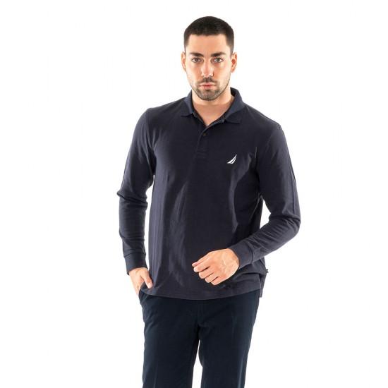 NAUTICA - Μπλούζα Polo 3NCK03150 Μπλέ