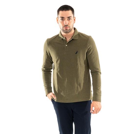 NAUTICA - Μπλούζα Polo 3NCK03150 Πράσινο