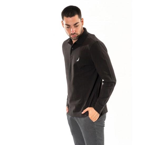 NAUTICA - Μπλούζα Polo 3NCK03150 Μαύρο