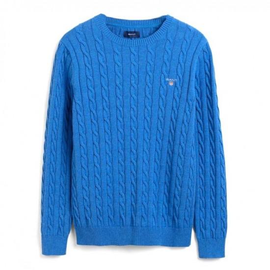 GANT - Πουλόβερ 3G8050501 Μπλε Ρουά