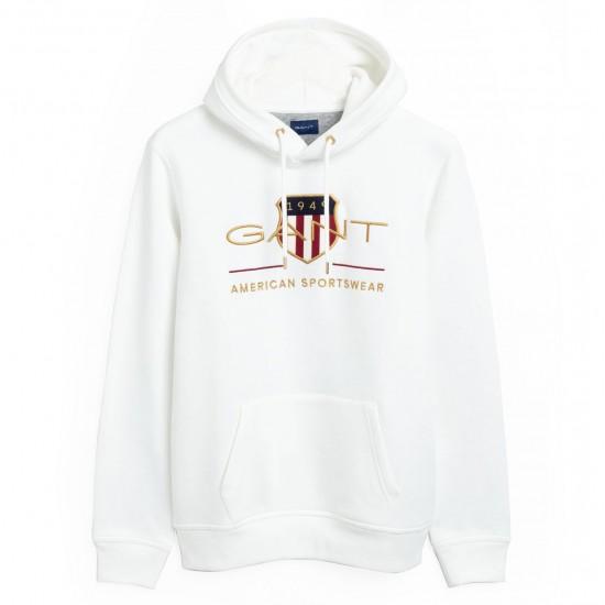 GANT - Φούτερ 3G2047056 Λευκό