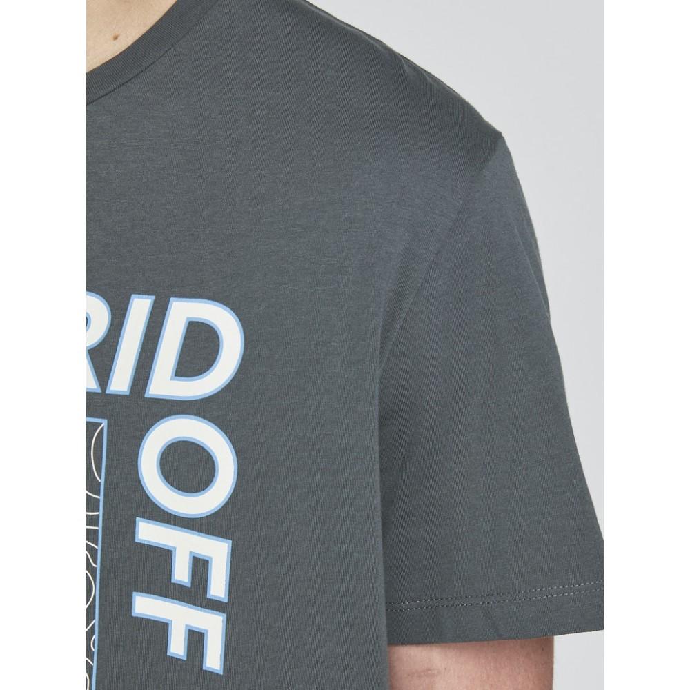 JACK & JONES - T-shirt 12199099 Γκρι / Ανθρακί