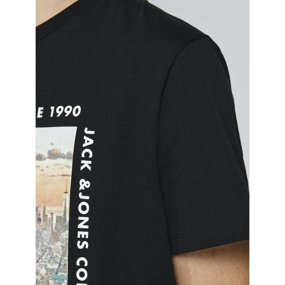 JACK & JONES - T-shirt 12199099 Μαύρο