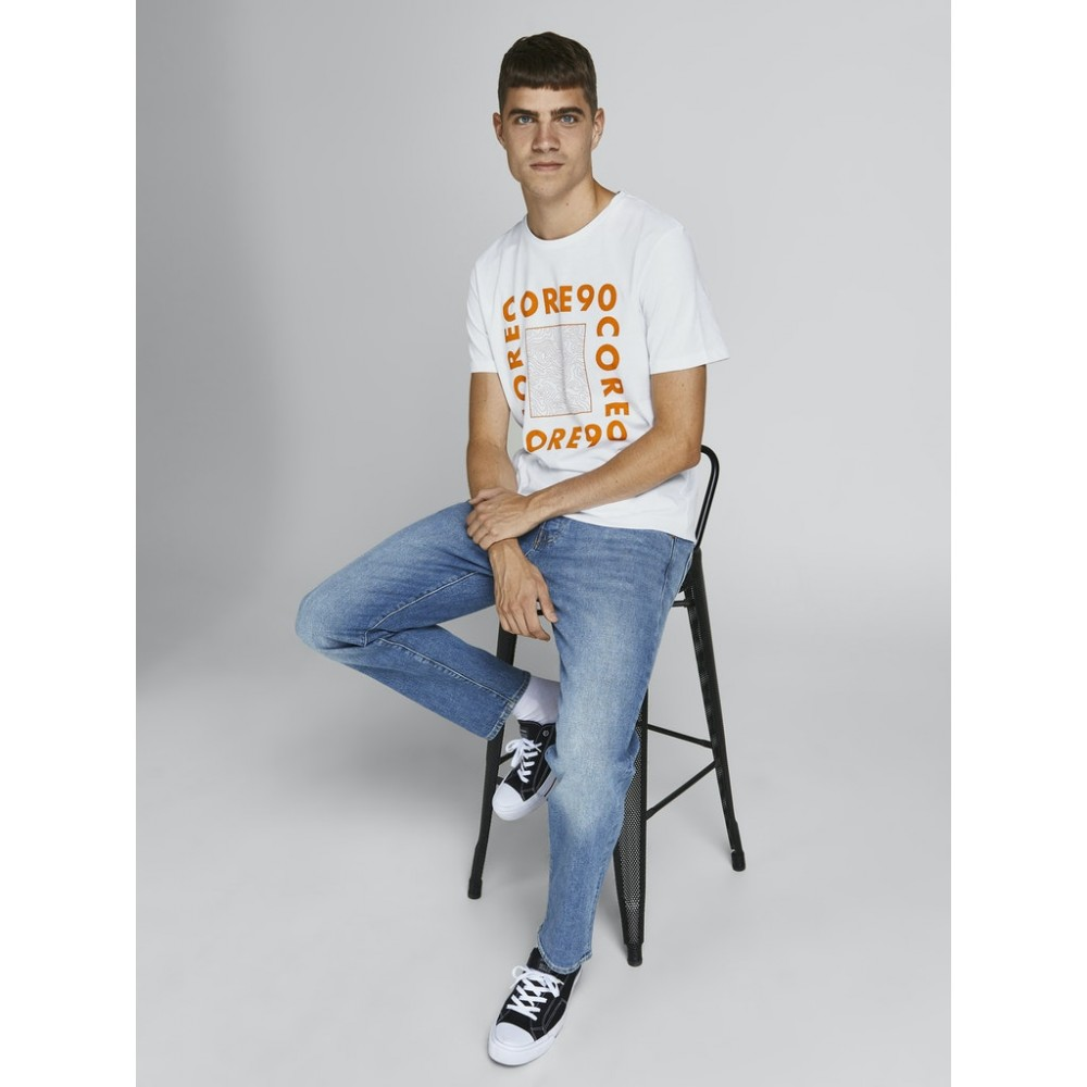 JACK & JONES - T-shirt 12199099 Λευκό