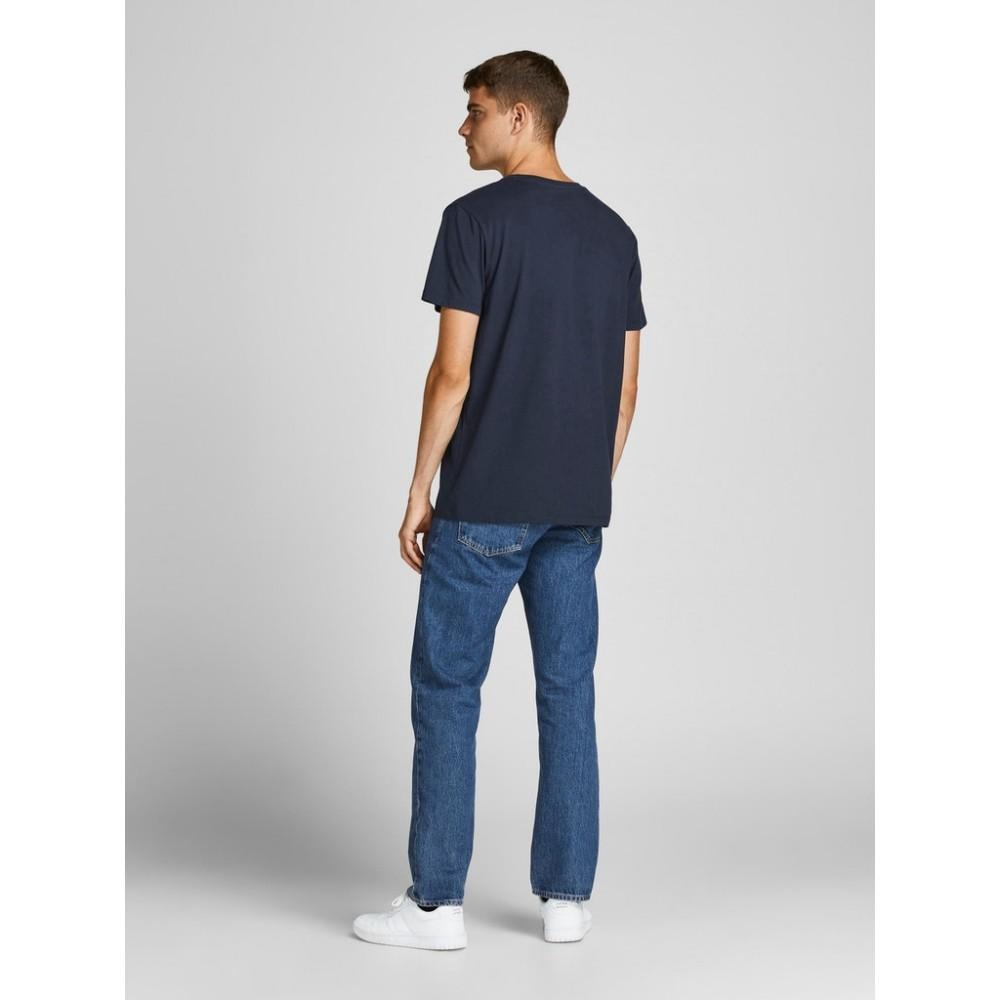 JACK & JONES - T-shirt 12199099 Μπλε