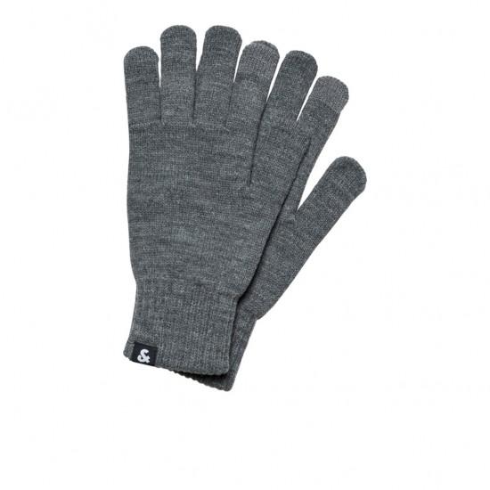 JACK & JONES - Γάντια 12159459 Γκρι