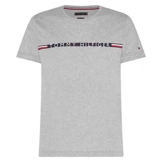 TOMMY HILFIGER - T-shirt MW0MW15319 Γκρι