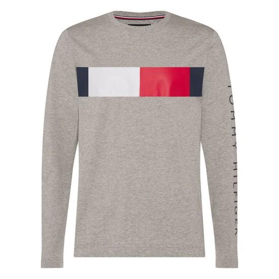 TOMMY HILFIGER - T-shirt MW0MW15337 Γκρι